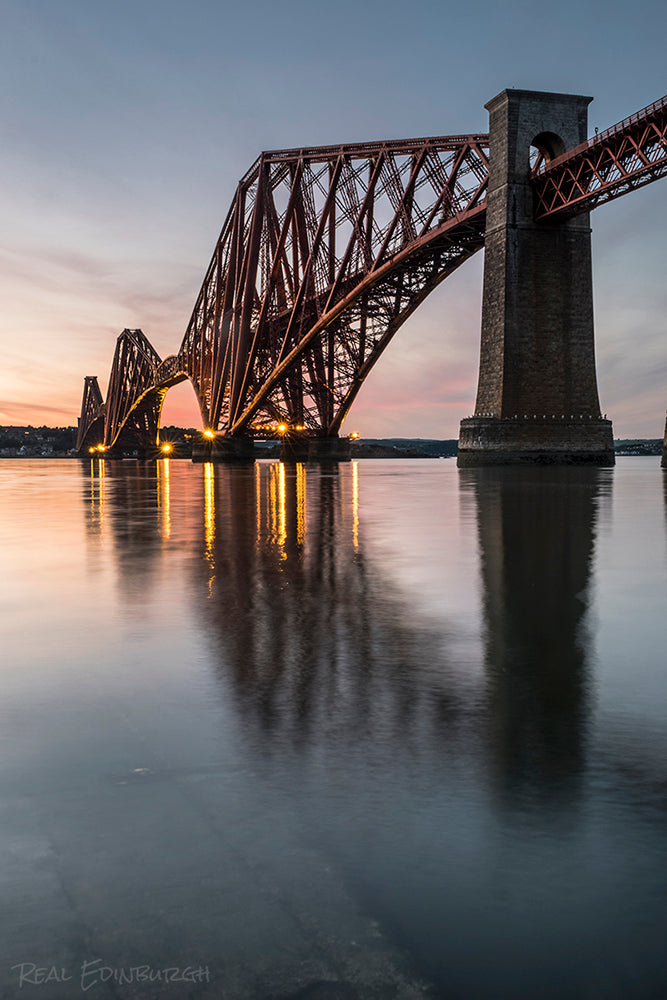 Forth Bridge Reflections 14 August 2016