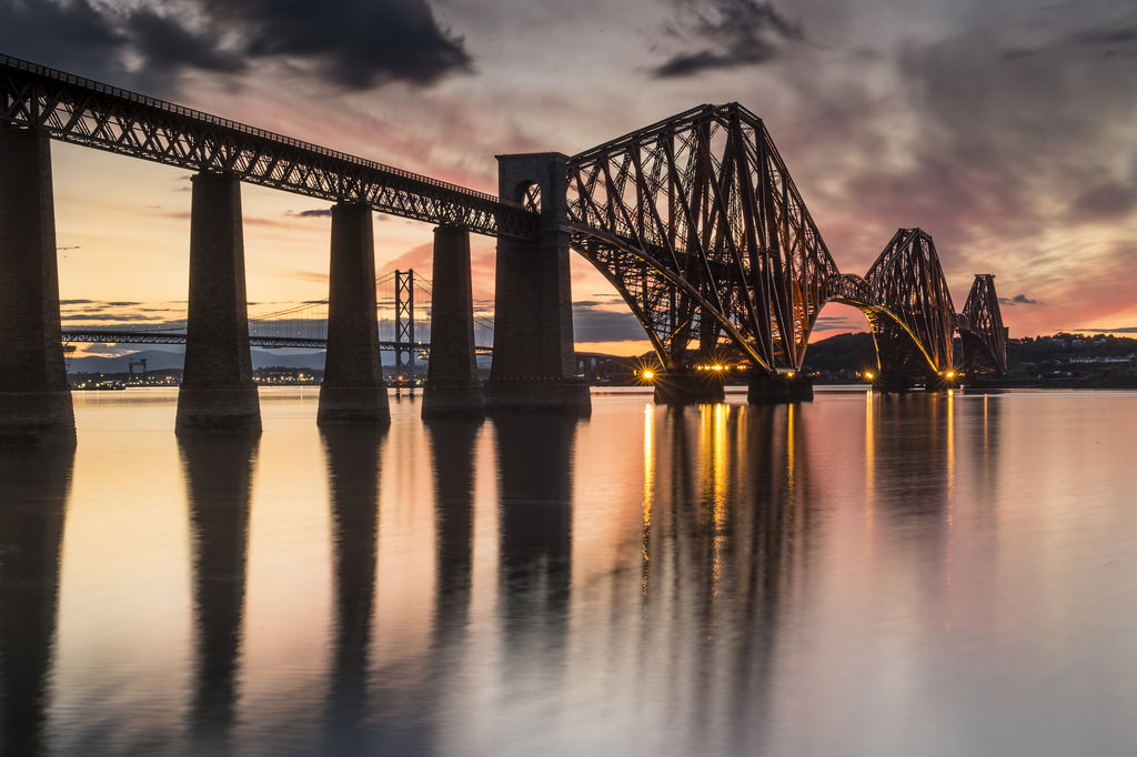 Forth Bridge Sunset 12 June 3