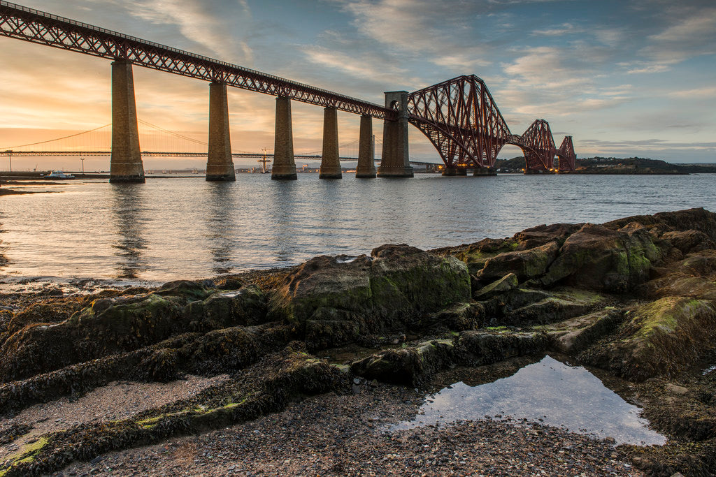 Forth Bridge Sunset 2 12 Sept 2014