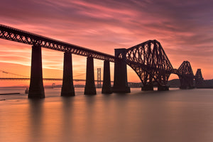 Forth Bridge Sunset 20 July 2013