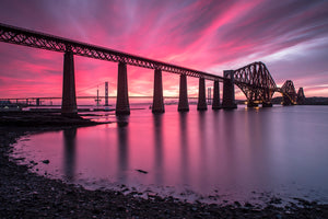 Forth Bridge Sunset 22 May 2015