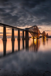 Forth Bridge Sunset 8 April 2015