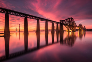 Forth Bridge Sunset Feb 7th Landscape