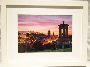 Classic Calton Sunset Framed Print