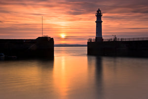 Newhaven Sunset 12 July 2013