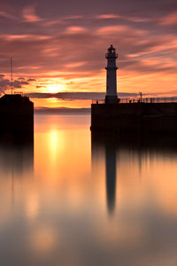 Newhaven Sunset 6 June 2013