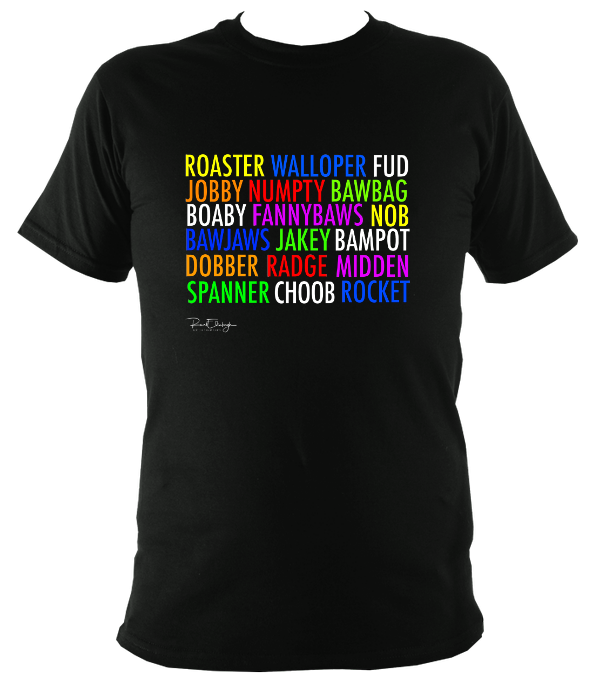 Scottish Insults T-shirt