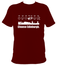"""Choose Edinburgh Weather"" T-shirt"
