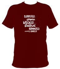 Drunk Scottish words T-shirt