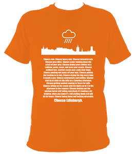 """Choose Edinburgh"" T-shirt"
