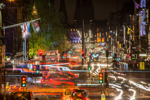 Princes Street Light Trails