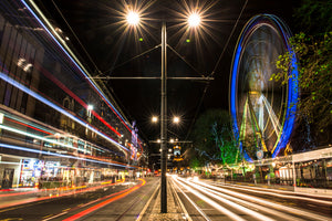 Princes Street and the Wheel