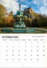 Real Edinburgh 2020 Calendar