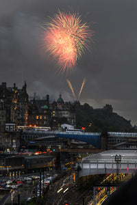 Fireworks in Thunderstorms 10 August 2019