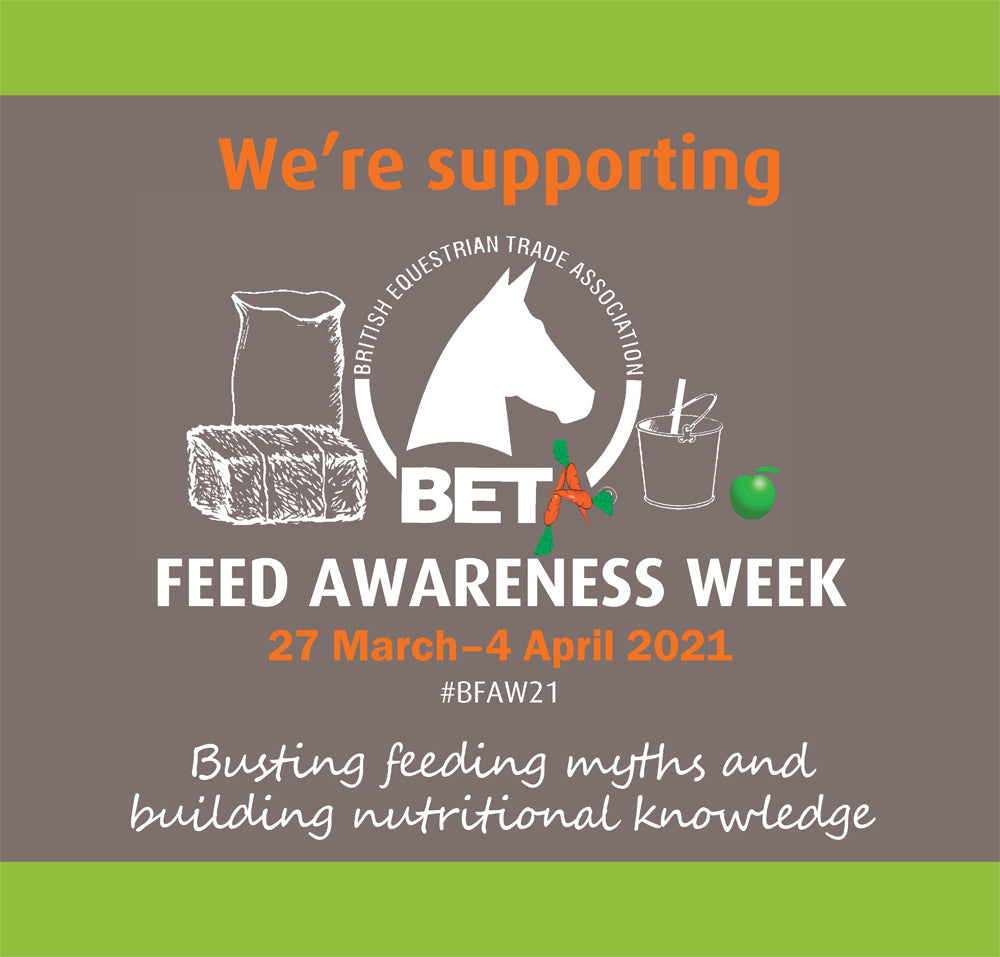 Blue Chip are supporting #BFAW21 - British Equestrian Trade Association Feed Awareness Week 2021