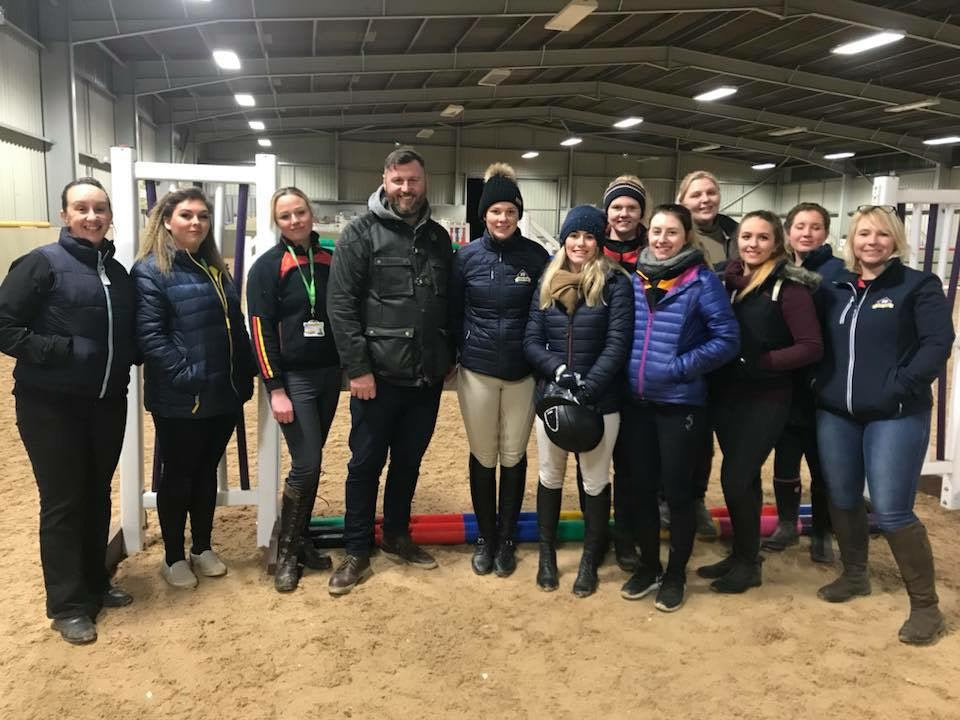 Charity Event Organised by University of Derby Students featuring Beth Vernon (sponsored rider).