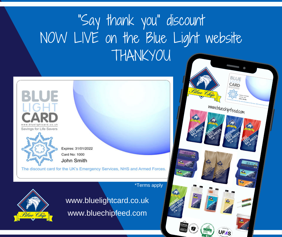 NHS discount now extends to Blue Light Card holders