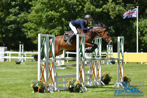 Jake Myers claims the Blue Chip Pony Newcomers Second Round at Bicton Arena