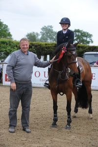 Jodie Burchmore-Eames lands the Blue Chip Pony Newcomers Second Round at South View Equestrian Centre