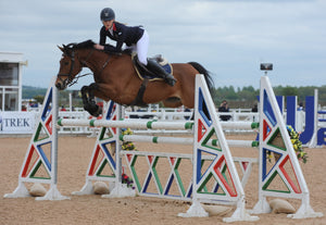 Lily Freeman Attwood heads Blue Chip Pony Newcomers Second Round at Weston Lawns Equitation Centre