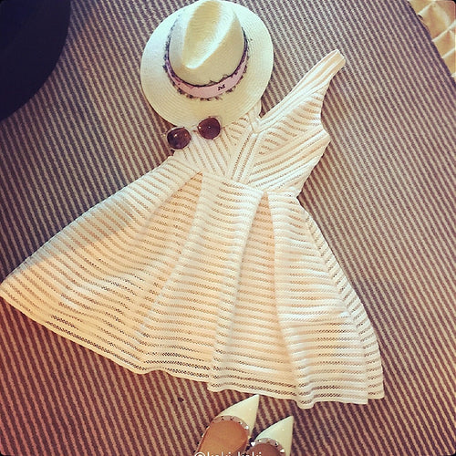 Stylish v neck short dress, party dress, fashion girl dress