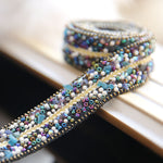 Unique handmade diamond belt, fashion belt