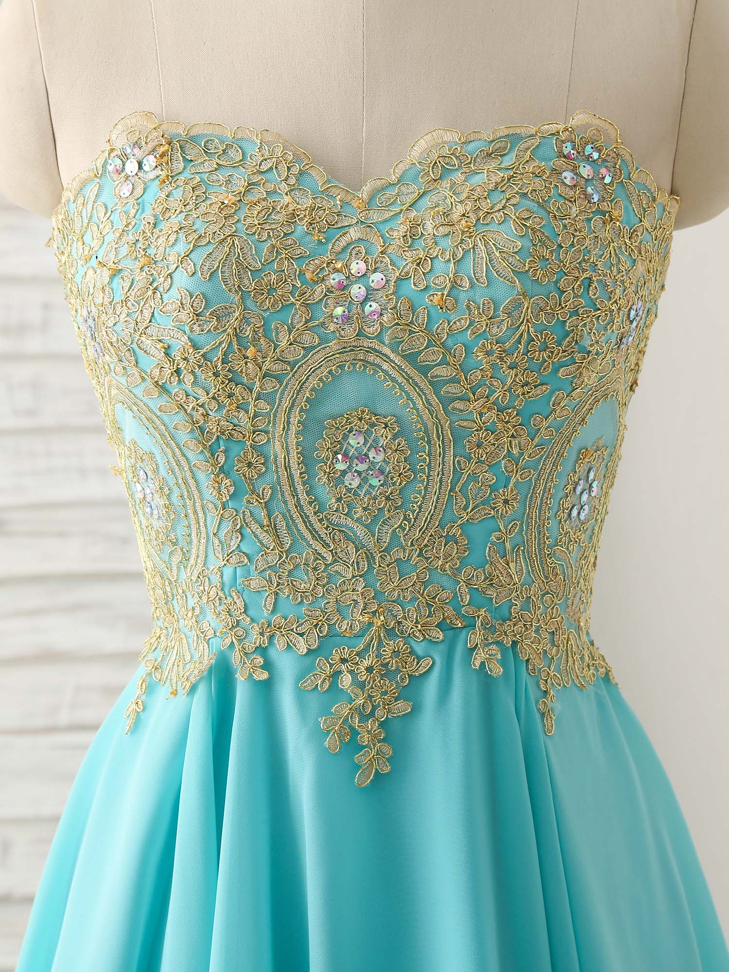 Cute green lace applique short prom dress green homecoming dress