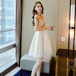 Cute tulle lace women fashion dress, prom dress, party dress
