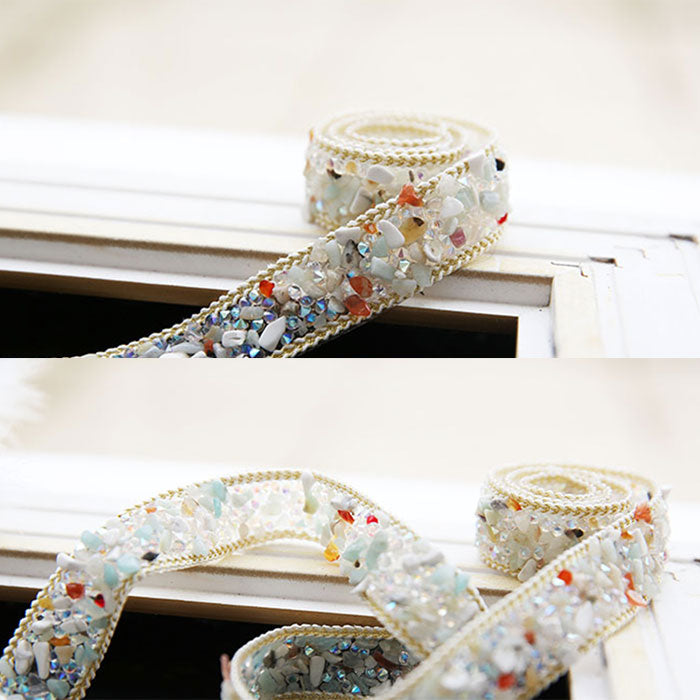 Fashion handmade diamond belt, fashion belt