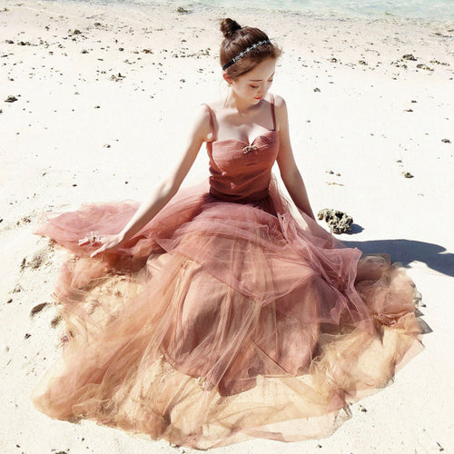 Cute sweetheart tulle women fashion dress, tulle prom dress