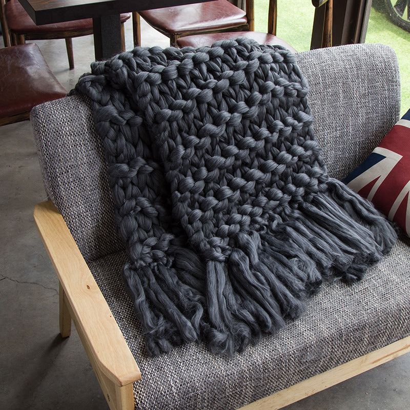 Cute chunky knit blanket knitted blanket, chunky blanket, bulky gift