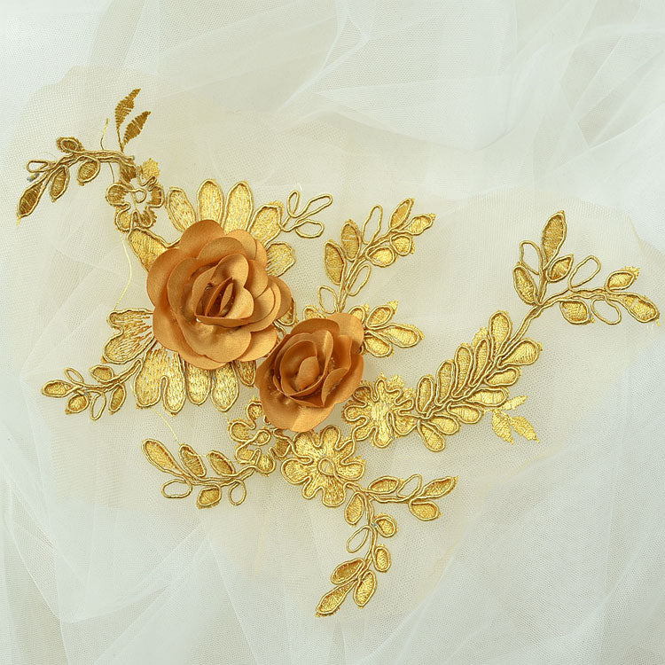 Cute 3D lace applique