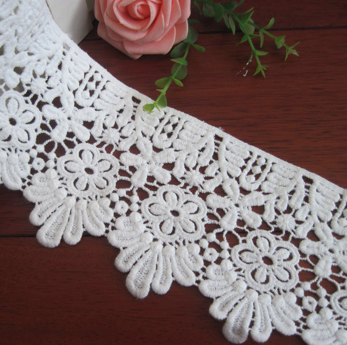 DIY lace fabric, lace applique