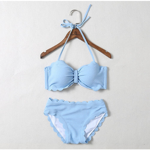 Stylish two pieces swimsuit, swimsuit