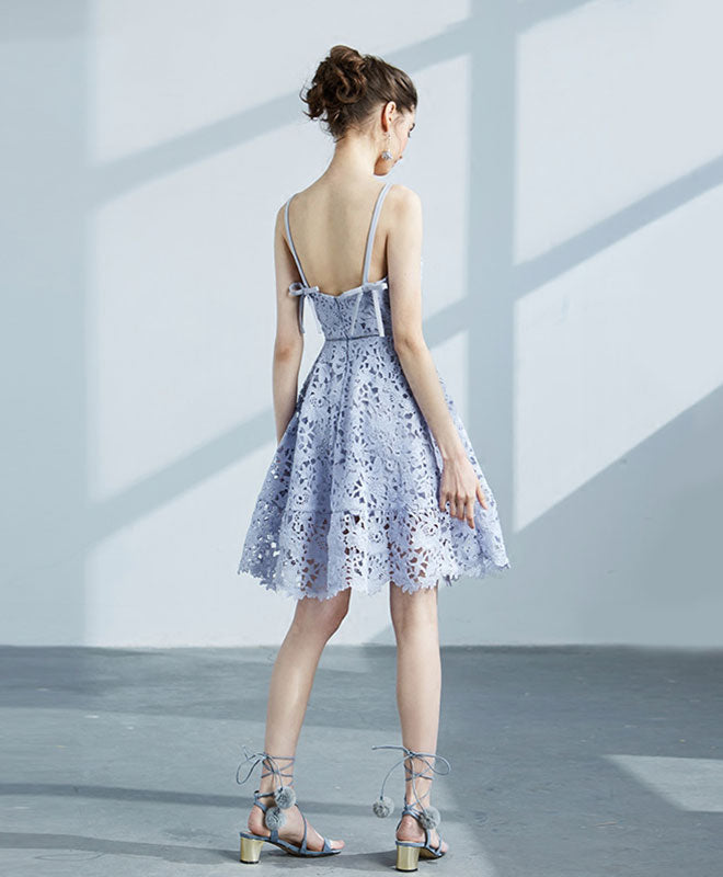 Cute v neck short prom dress, homecoming dress, cocktail dress