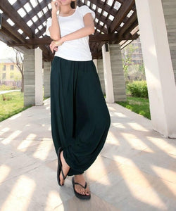 Garuda Asana Green Harem Pants - Tusker Clothing