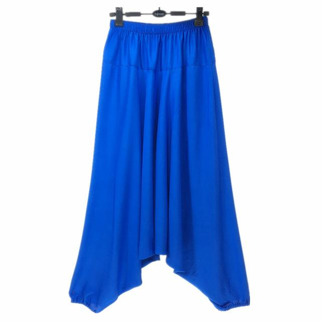 Garuda Asana Deep Blue Harem Pants - Tusker Clothing