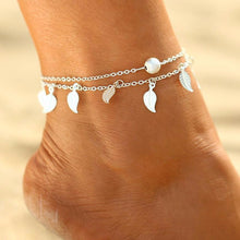 Ethnic Indian Leaf Tassel Anklets