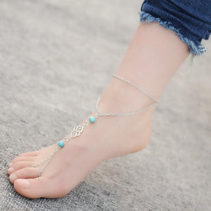 Ethnic Multilayer Toe Anklets Foot Jewelry
