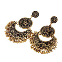 Ethnic Indian Vintage Gold Earring - Tusker Clothing