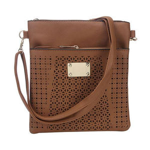 Cross Body Hollow Patterned - Tusker Clothing - Tusker Clothing