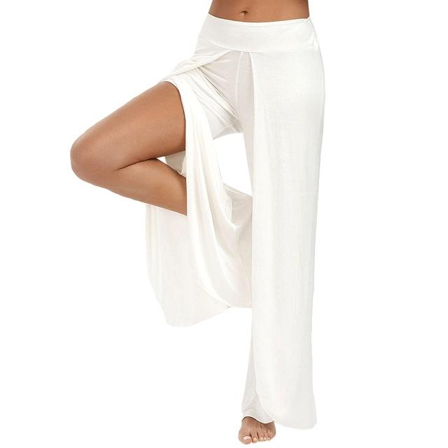 Ugrasana White Harem Pants - Tusker Clothing