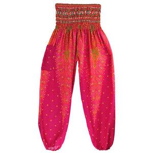 Simha Asana Rose Harem Pants - Tusker Clothing