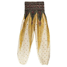 Simha Asana White Harem Pants - Tusker Clothing