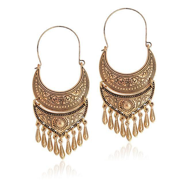 Vintage Bohemia Antique Earring - Tusker Clothing