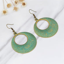 Hollow Chandra Drop Earrings - Tusker Clothing