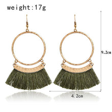 Samsara tassel Earrings - Tusker Clothing
