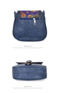 Mela inspired soft leather sling bag - Tusker Clothing