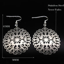 Stainless Steel Flower Hang - Tusker Clothing