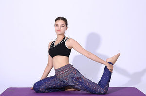 Simha Asana Cosmic Blue Harem Pants - Tusker Clothing